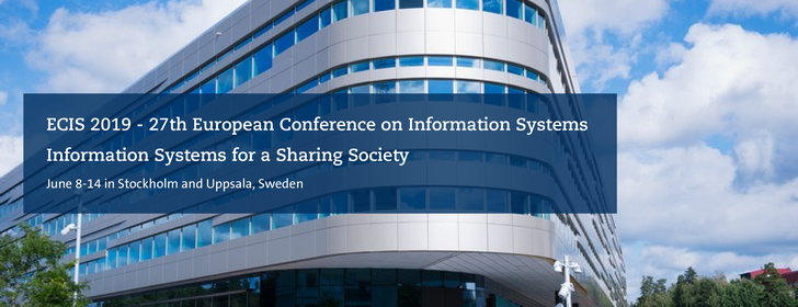 European Conference on Information Systems - ECIS 2019